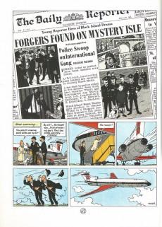 Extrait de Tintin (The Adventures of) -7e2002- The Black Island