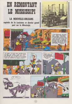 Extrait de Lucky Luke -16b69- En remontant le Mississipi