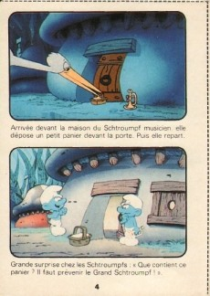 Extrait de Schtroumpfs (Mini-récits) -7MR2435- Le Bébé Schtroumpf