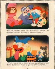 Extrait de Schtroumpfs (Mini-récits) -8MR2438- Le 1er Noël du bébé Schtroumpf