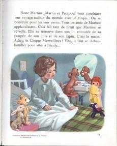 Extrait de Martine -4a69- Martine au cirque