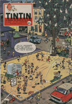 Extrait de (Recueil) Tintin (Album du journal - Édition française) -42- Tintin album du journal