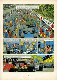 Extrait de Michel Vaillant -42a1991- 300 à l'heure dans Paris