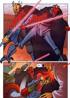 Extrait de Star Wars - The Clone Wars -4- Mission 4 : Les chasseurs de Sith