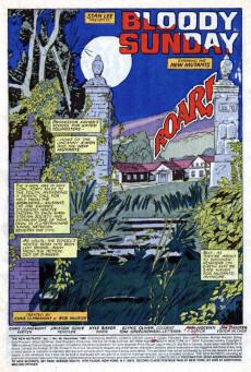 Extrait de New Mutants (The) (1983) -46- Bloody sunday