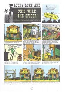 Extrait de Lucky Luke (en anglais) -840- Phil Wire