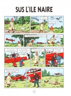 Extrait de Tintin (en langues régionales) -7Gallo- Sus l'île naire