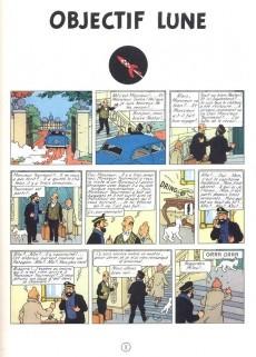 Extrait de Tintin (Historique) -16B10- Objectif lune