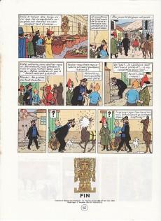 Extrait de Tintin (Historique) -14C6- Le temple du soleil