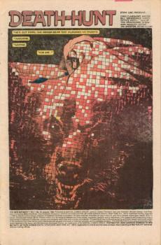 Extrait de New Mutants (The) (1983) -18- Death-hunt