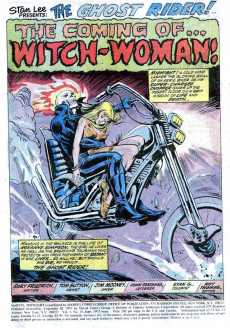 Extrait de Marvel Spotlight Vol 1 (1971) -10- The Coming of... Witch-Woman!