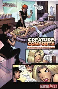 Extrait de X-Men: To Serve And Protect (2011) -1- X-Dudes