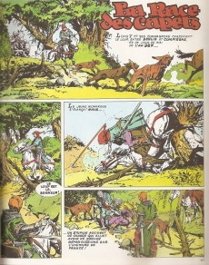 Extrait de Histoire de France en bandes dessinées (Intégrale) -2a- De hugues Capet à Bouvines