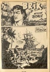 Extrait de Brik (Mon journal) -134- Mission royale