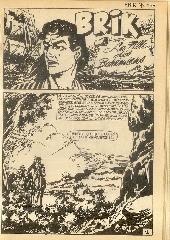 Extrait de Brik (Mon journal) -135- La fille des Bohémiens