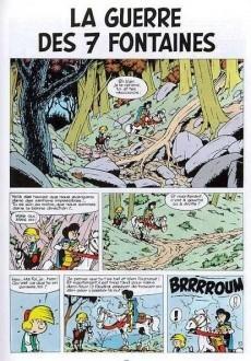 Extrait de Johan et Pirlouit -10c80- La guerre des 7 fontaines