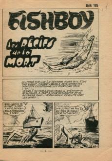 Extrait de Brik (Mon journal) -165- Les récifs de la mort