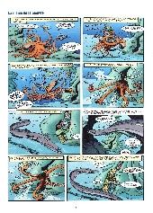 Extrait de Les animaux marins en bande dessinée - Tome 1