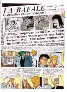 Extrait de Ric Hochet - La collection (Hachette) -65- Panique sur le Web