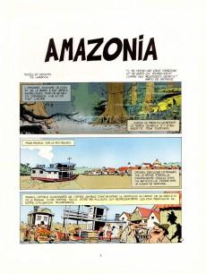 Extrait de Les mémoires du Capitaine Moulin-Rouge -1- Amazonia