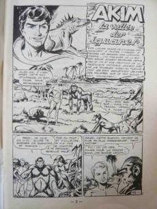 Extrait de Akim (1re série) -152- La vallée des iguanes