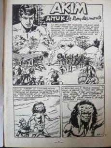 Extrait de Akim (1re série) -165- Aituk le lion des monts