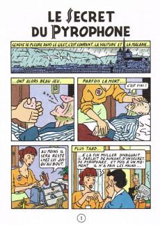 Extrait de Percelot (Les aventures de) -3- Le Secret du Pyrophone