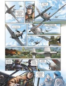 Extrait de Les enragés du Normandie-Niemen -4- Baptême du feu sur yak