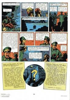 Extrait de Blake et Mortimer (Historique) -1b82- Le Secret de l'Espadon - Tome I - La Poursuite fantastique