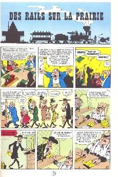 Extrait de Lucky Luke -9b86- Des rails sur la prairie