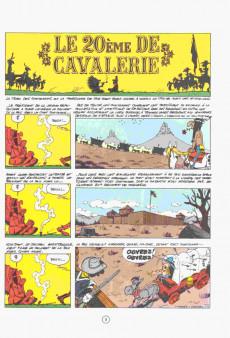 Extrait de Lucky Luke -27a1984- Le 20ème de cavalerie