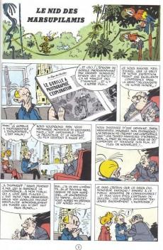 Extrait de Spirou et Fantasio -12e90- Le nid des Marsupilamis