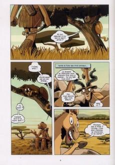 Extrait de Les taches du léopard