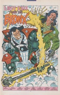 Extrait de Punisher 2099 (Marvel comics - 1993) -3- Last exit from the Bronx