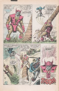 Extrait de Avengers Vol. 1 (Marvel Comics - 1963) -278- Pressure
