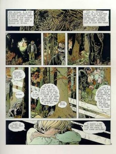Extrait de Grimion gant de cuir -2- Le corbeau blanc