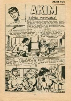 Extrait de Akim (1re série) -494- L'épée invisible