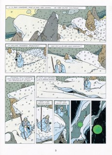 Extrait de La malédiction des sept boules vertes -3- La poursuite