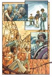 Extrait de Jimi Hendrix en bandes dessinées