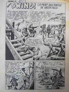 Extrait de Capt'ain Swing! (2e série - Mon Journal) -57- La mort aux portes de Green Falls
