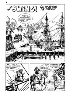 Extrait de Capt'ain Swing! (2e série - Mon Journal) -129- Le vampire de Stork