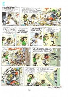 Extrait de Gaston -12a1975- Le Gang des gaffeurs