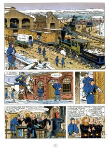 Extrait de Les tuniques Bleues -23b2012- Les cousins d'en face