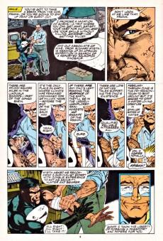 Extrait de Punisher War Journal Vol.1 (Marvel comics - 1988) -INT- The Punisher and Wolverine in African Saga