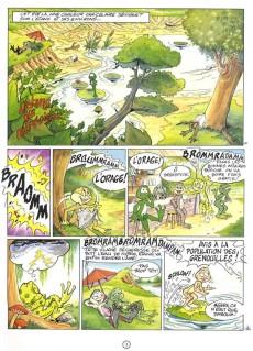 Extrait de Boogy & Rana -1- L'étang qui rétrécissait