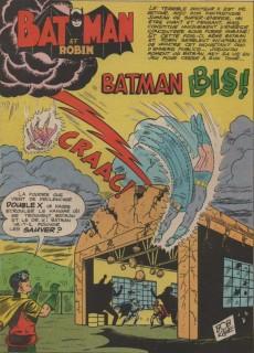Extrait de Superman et Batman et Robin -7- Batman Bis