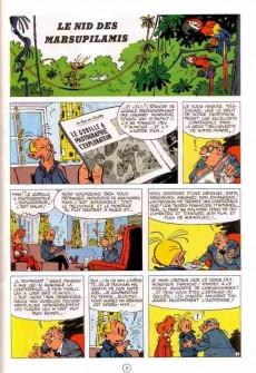 Extrait de Spirou et Fantasio -12f97- Le nid des Marsupilamis
