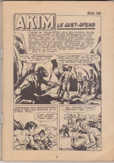 Extrait de Akim (1re série) -396- Le guet-apens
