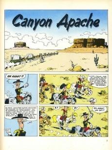 Extrait de Lucky Luke -37Ind- Canyon apache