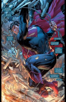 Extrait de Superman Unchained (2013) -1- The leap
